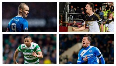 Waiting game: Scottish Premiership players on the hunt for new deals.