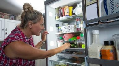 Hi-tech fridges and freezers with camera and wifi are being used in some homes to cut waste.