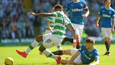 Celtic v Rangers: Sides will meet on March 12.