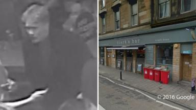 Appeal: Police want to trace this man after incident at Clerk's Bar.