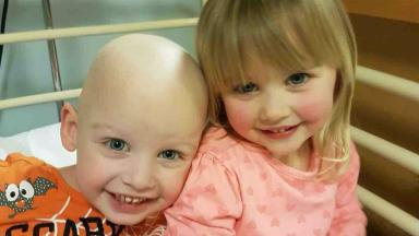 Twins: Dean Parker, left, and sister Elise.