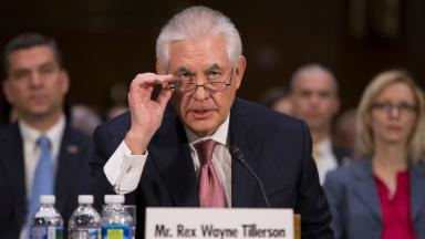 Rex Tillerson has faced scrutiny over his relationship with Russia