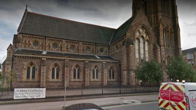 Investigation: St Mary's Episcopal Cathedral in Glasgow hit with online abuse.