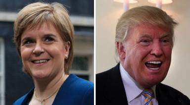 Inauguration: Nicola Sturgeon spoke to Donald Trump on the phone last month.