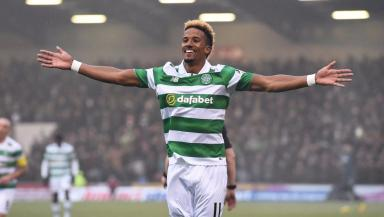 Scott Sinclair was an unused sub at Ibrox on Sunday.
