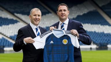 Mackay was unveiled as the SFA's technical director last year.