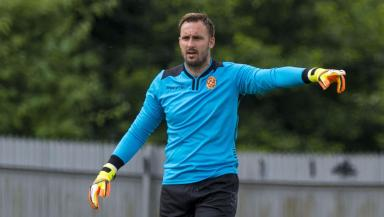 Exit: Brill leaves Motherwell after just six months at the club.