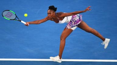 Venus Williams had no answer to her younger sister's all-court power.