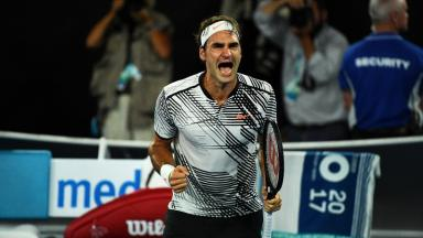 Federer was overcome with emotion at the end of an epic match that added a new chapter to his rivalry with Nadal.