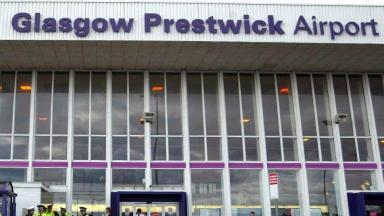 Passenger numbers have been dwindling at Prestwick.