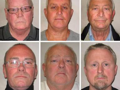 Hatton Garden raiders: (Top row left to right) John Collins, Daniel Jones, Terry Perkins, (bottom row left to right) Carl Wood, William Lincoln and Hugh Doyle.