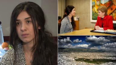 Nadia Murad: ISIS fighters came to her village in Iraqi Kurdistan in 2014.