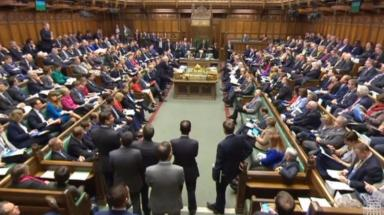 Commons: Government defeated by majority of 11.