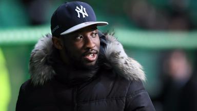 Moussa Dembele: Striker has a knee injury.