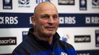 Excitement: Vern Cotter is embracing the nerves of his side ahead of the Six Nations