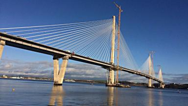 Queensferry: The bridge is due to open in May.