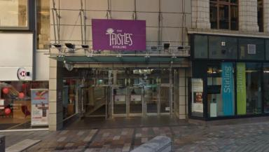 Thistles: The incident happened inside the shopping centre.