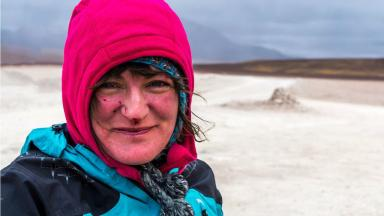 World adventurer: Ishbel Taromsari is now heading to the Amazon.