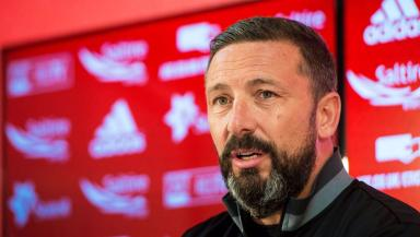 Derek McInnes: Committed to the Dons (file pic).