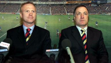 Dick Advocaat: Dutchman worked with Alex McLeish at Rangers.
