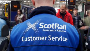 ScotRail: Hoping to organise replacement buses (file pic).