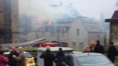 Blaze: Six fire crews sent out to Callander fire.