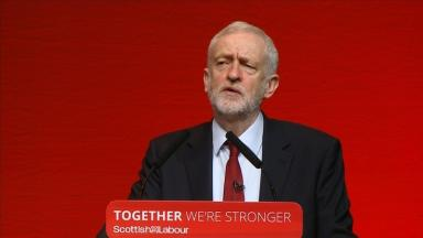 Corbyn: Child poverty in Scotland 'a moral outrage'.