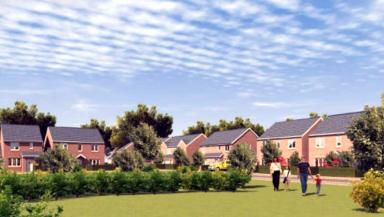 Development: An artist's impression of the proposed site.