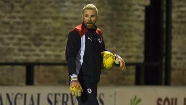 Hero in waiting? Ryan Stevenson has pulled on the gloves.