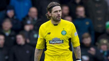 Sitting tight: Logan Bailly rejected game time at Raith.