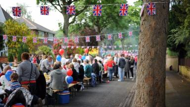 Britons across the country celebrated 2012's Diamond Jubilee with street parties