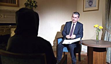 Interview: Alleged victim spoke to STV News chief reporter David Cowan.