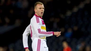 Jordan Rhodes has only scored three goals for Scotland.