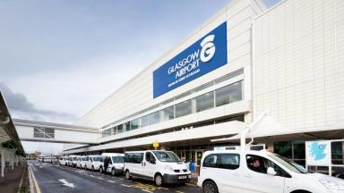 Glasgow Airport: Four flights cancelled.