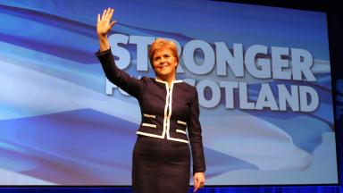 SNP: Nicola Sturgeon hailed her party's win as 'emphatic' last week.