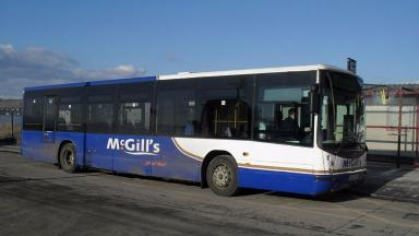 Attack: Bus driver for McGill's slashed in face on Sunday morning.