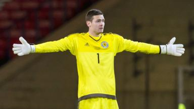 Craig Gordon let one goal in at the weekend.
