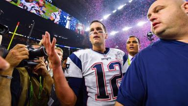 Tom Brady's game-winning jersey became a highly prized memorabilia item after he led his team to a famous comeback win.