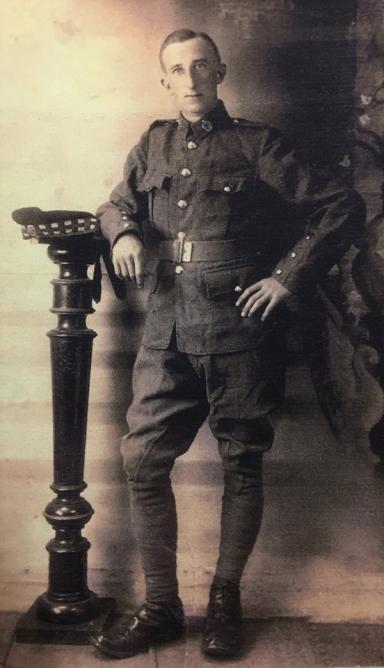 Sandy's father, David Alexander Hunter.