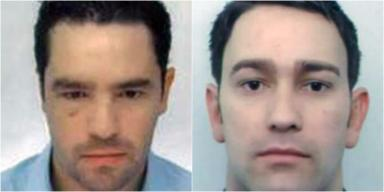 Wanted: David Diaz and Ludovic Black failed to show up for questioning.