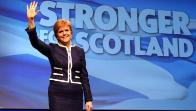 SNP: Nicola Sturgeon said her fellow Scottish nationalists most demonstrate its positivities.