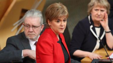 Nicola Sturgeon: The First Minister says the country needs an 'honest' debate on tax.
