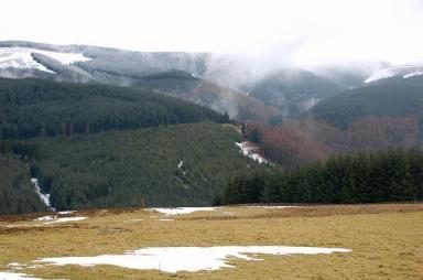Glentress also boasts five fantastic walking trails.