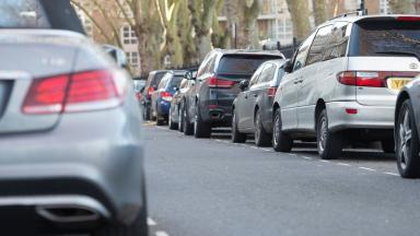Parking: Councils to clamp down on pavement parking (file pic).