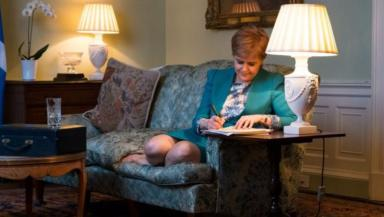 Indyref2: Sturgeon previously wrote to May demanding permission for vote.