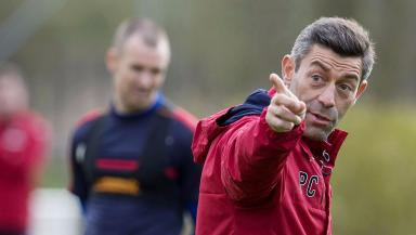 Pedro Caixinha: The Portuguese manager will take on one of his home nation's biggest sides next month.