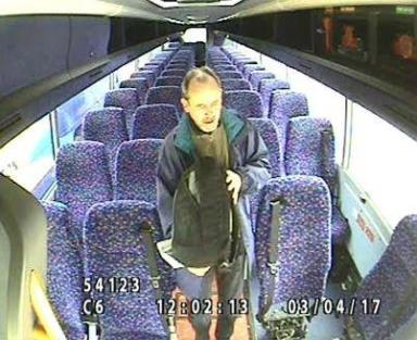 Missing: Keith Paterson was last seen getting off a bus in Glasgow