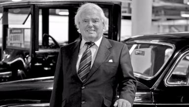 Sir Arnold Clark: Billionaire died on Monday morning.