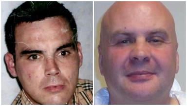Murder: Darren Adie (l) was stabbed by Coventry.