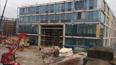 Boroughmuir: School hit by a number of construction delays.